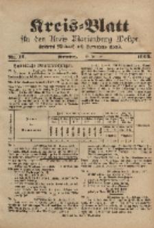 Kreis-Blatt für den Kreis Marienburg Westpreussen, 18. Februar, Nr 13.
