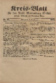 Kreis-Blatt für den Kreis Marienburg Westpreussen, 22. Februar, Nr 14.