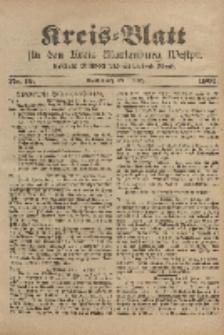 Kreis-Blatt für den Kreis Marienburg Westpreussen, 1. März, Nr 16.