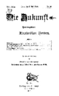 Die Zukunft, 5. Juli, Jahrg. XXI, Bd. 84, Nr 40.