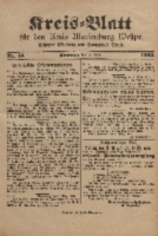 Kreis-Blatt für den Kreis Marienburg Westpreussen, 11. März, Nr 19.
