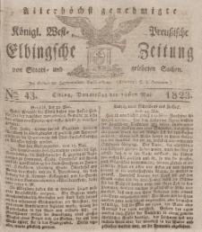 Elbingsche Zeitung, No. 43 Donnerstag, 29 Mai 1823