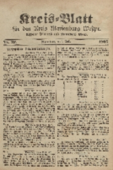Kreis-Blatt für den Kreis Marienburg Westpreussen, 8. April, Nr 27.