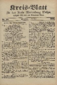 Kreis-Blatt für den Kreis Marienburg Westpreussen, 19. April, Nr 30.