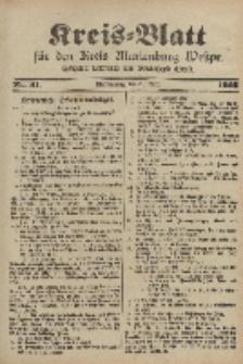 Kreis-Blatt für den Kreis Marienburg Westpreussen, 22. April, Nr 31.