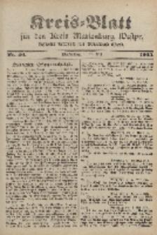 Kreis-Blatt für den Kreis Marienburg Westpreussen, 24. Mai, Nr 40.