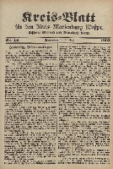 Kreis-Blatt für den Kreis Marienburg Westpreussen, 31. Mai, Nr 42.