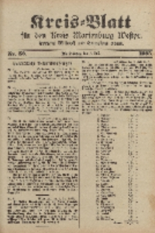 Kreis-Blatt für den Kreis Marienburg Westpreussen, 5. Juli, Nr 52.