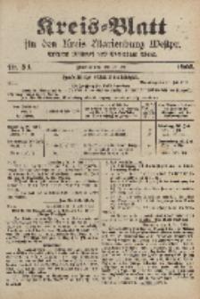 Kreis-Blatt für den Kreis Marienburg Westpreussen, 12. Juli, Nr 54.