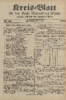 Kreis-Blatt für den Kreis Marienburg Westpreussen, 29. Juli, Nr 59.