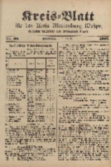 Kreis-Blatt für den Kreis Marienburg Westpreussen, 2. August, Nr 60.