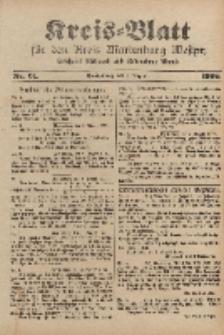 Kreis-Blatt für den Kreis Marienburg Westpreussen, 5. August, Nr 61.