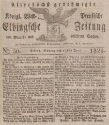 Elbingsche Zeitung, No. 50 Montag, 23 Juni 1823