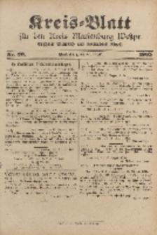 Kreis-Blatt für den Kreis Marienburg Westpreussen, 23. August, Nr 66.