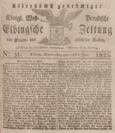 Elbingsche Zeitung, No. 51 Donnerstag, 26 Juni 1823