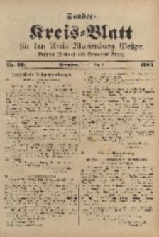 Kreis-Blatt für den Kreis Marienburg Westpreussen, 31. August, Nr 69.