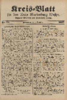 Kreis-Blatt für den Kreis Marienburg Westpreussen, 2. September, Nr 70.