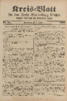 Kreis-Blatt für den Kreis Marienburg Westpreussen, 30. September, Nr 78.