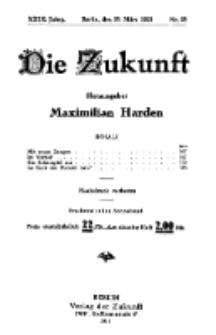 Die Zukunft, 26. März, Jahrg. XXIX, Bd. 112, Nr 26.