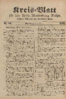 Kreis-Blatt für den Kreis Marienburg Westpreussen, 7. Oktober, Nr 80.