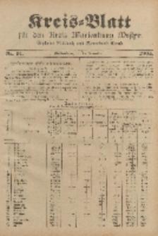Kreis-Blatt für den Kreis Marienburg Westpreussen, 15. November, Nr 91.