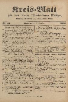Kreis-Blatt für den Kreis Marienburg Westpreussen, 18. November, Nr 92.