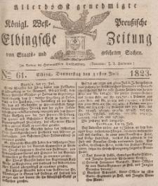 Elbingsche Zeitung, No. 61 Donnerstag, 31 Juli 1823