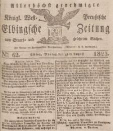 Elbingsche Zeitung, No. 62 Montag, 4 August 1823