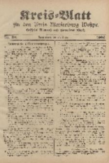 Kreis-Blatt für den Kreis Marienburg Westpreussen, 13. Dezember, Nr 98.