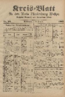 Kreis-Blatt für den Kreis Marienburg Westpreussen, 16. Dezember, Nr 99.