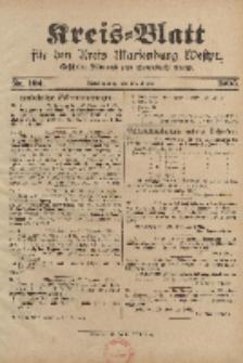 Kreis-Blatt für den Kreis Marienburg Westpreussen, 30. Dezember, Nr 102.