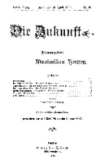 Die Zukunft, 10. April, Jahrg. XVII, Bd. 67, Nr 28.