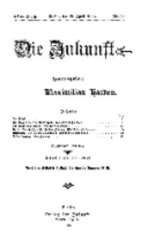 Die Zukunft, 17. April, Jahrg. XVII, Bd. 67, Nr 29.