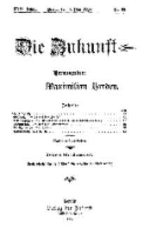 Die Zukunft, 8. Mai, Jahrg. XVII, Bd. 67, Nr 32.
