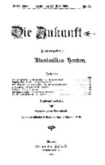 Die Zukunft, 22. Mai, Jahrg. XVII, Bd. 67, Nr 34.