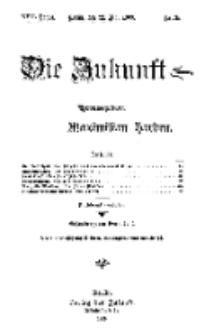 Die Zukunft, 29. Mai, Jahrg. XVII, Bd. 67, Nr 35.