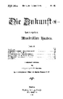 Die Zukunft, 05. Juli, Jahrg. XVII, Bd. 67, Nr 36.