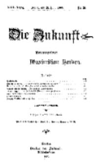 Die Zukunft, 19. Juni, Jahrg. XVII, Bd. 67, Nr 38.