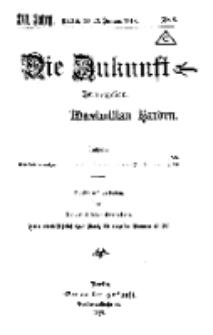 Die Zukunft, 19. Januar, Jahrg. XXVI, Bd. 100, Nr 8.