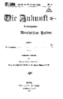 Die Zukunft, 26. Januar, Jahrg. XXVI, Bd. 100, Nr 9.