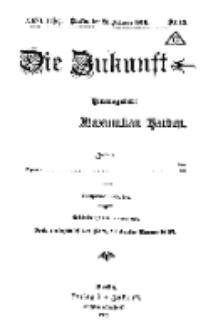 Die Zukunft, 23. Februar, Jahrg. XXVI, Bd. 100, Nr 13.