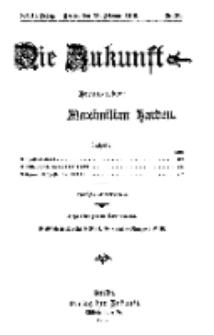 Die Zukunft, 13. Februar, Jahrg. XXIII, Bd. 90, Nr 20.