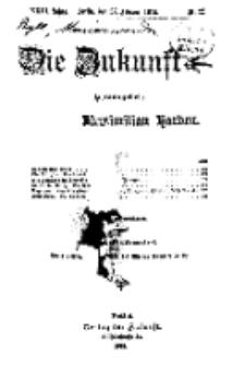 Die Zukunft, 27. Februar, Jahrg. XXIII, Bd. 90, Nr 22.