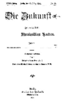 Die Zukunft, 13. März, Jahrg. XXIII, Bd. 90, Nr 24.