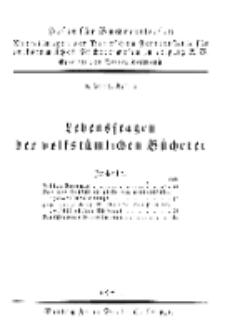 Hefte für Büchereiwesen. Der Volksbibliothekar und die Bücherhalle, 6. Band, H. 2.