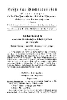 Hefte für Büchereiwesen. Der Volksbibliothekar und die Bücherhalle, Abteilung B, 7. Band, H. 2.