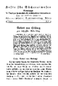 Hefte für Büchereiwesen. Der Volksbibliothekar und die Bücherhalle, 10. Band, H. 5.
