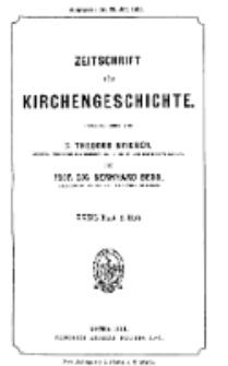 Zeitschrift für Kirchengeschichte, 1911, Bd. 32, H. 2.