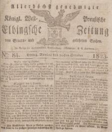 Elbingsche Zeitung, No. 84 Montag, 20 Oktober 1823