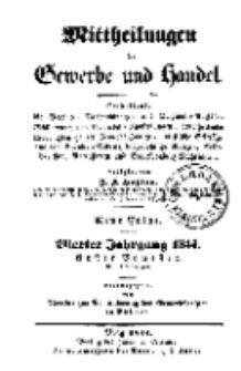 Mitteilungen für Gewerbe und Handel, Januar, 1844